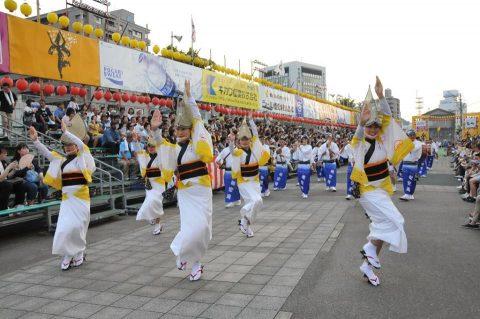 第24航空隊「松空連」による徳島阿波踊り2016の記録No2