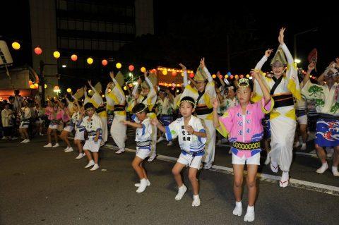 第24航空隊「松空連」による徳島阿波踊り2016の記録No3