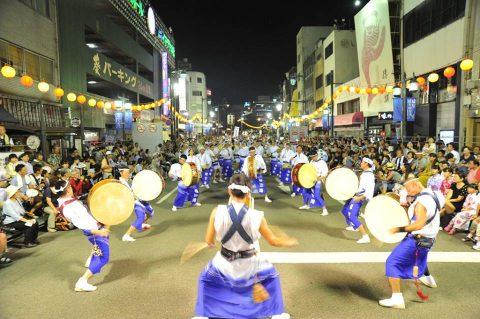 第24航空隊「松空連」による徳島阿波踊り2016の記録No4