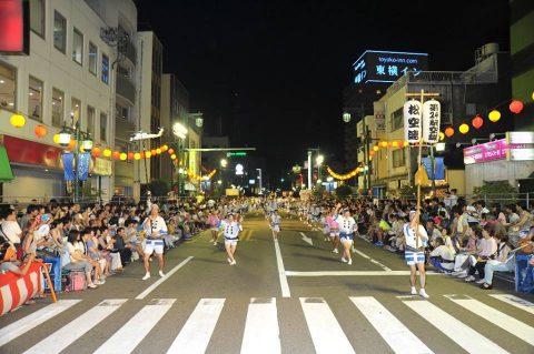 第24航空隊「松空連」による徳島阿波踊り2016の記録No6