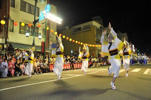 第24航空隊「松空連」による徳島阿波踊り2016の記録No7