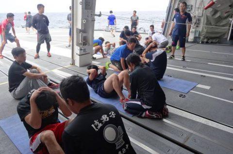 海上自衛隊ソマリア沖海賊対処行動水上部隊(25次隊)すずつき6No10