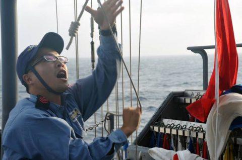海上自衛隊 海賊対処行動水上部隊(25次隊)いなづま・すずつき6Nof3