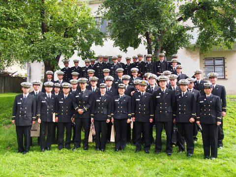 在リトアニア日本国大使館Facebookに練習艦隊寄港の記録が紹介No21
