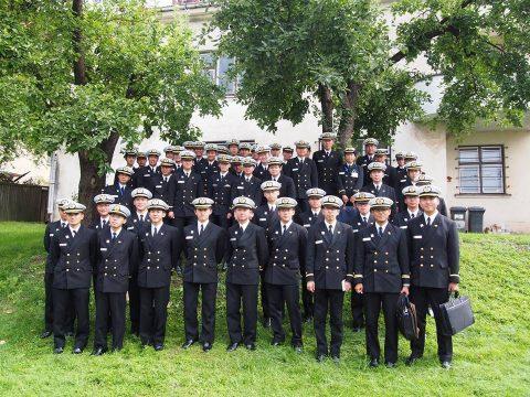 在リトアニア日本国大使館Facebookに練習艦隊寄港の記録が紹介No22