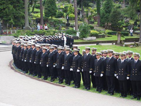 在リトアニア日本国大使館Facebookに練習艦隊寄港の記録が紹介No24