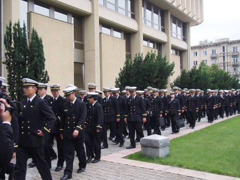 在リトアニア日本国大使館Facebookに練習艦隊寄港の記録が紹介No27