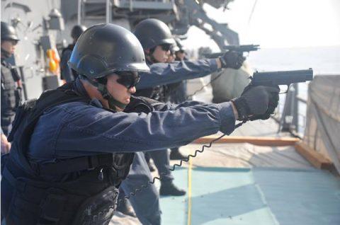 派遣海賊対処行動水上部隊(25次隊)11 SH60K~艦上体育No5