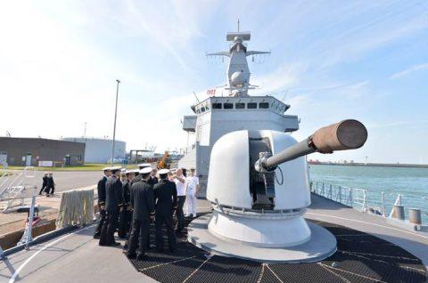 海上自衛隊2016年幹部候補生 練習艦隊 遠洋航海16ベルギーNo08