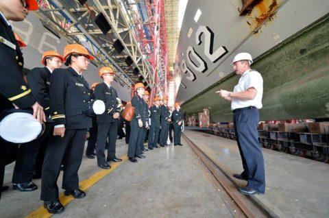 海上自衛隊2016年幹部候補生 練習艦隊 遠洋航海16ベルギーNo09