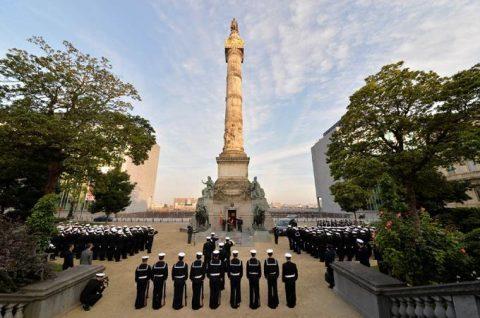 海上自衛隊2016年幹部候補生 練習艦隊 遠洋航海16ベルギーNo10