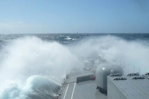 海上自衛隊2016年幹部候補生 練習艦隊 遠洋航海16ベルギーNo12