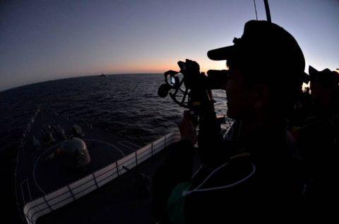 海上自衛隊2016年幹部候補生 練習艦隊 遠洋航海16ベルギーNo13