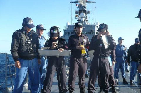 海上自衛隊2016年幹部候補生 練習艦隊 遠洋航海16ベルギーNo14