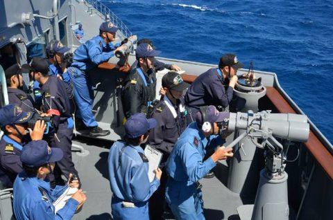 海上自衛隊2016年幹部候補生 練習艦隊 遠洋航海16ベルギーNo15