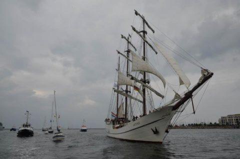 海上自衛隊2016年幹部候補生 練習艦隊 遠洋航海16ベルギーNo16