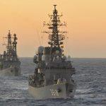 2016年幹部候補生 練習艦隊 遠洋航海17せとゆき・あさぎり