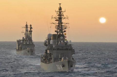 2016年幹部候補生 練習艦隊 遠洋航海17せとゆき・あさぎりNo1