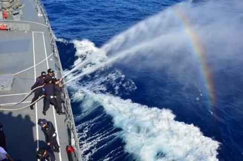 2016年幹部候補生 練習艦隊 遠洋航海17せとゆき・あさぎりNo2