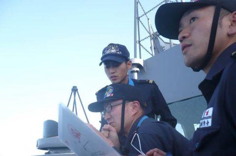 2016年幹部候補生 練習艦隊 遠洋航海17せとゆき・あさぎりNo3