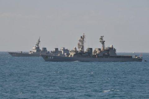 派遣海賊対処行動水上部隊(24次隊から25次隊への任務交代)の記録No2