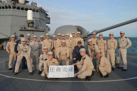 派遣海賊対処行動水上部隊(24次隊から25次隊への任務交代)の記録No4