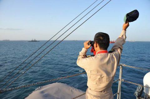 派遣海賊対処行動水上部隊(24次隊から25次隊への任務交代)の記録No6