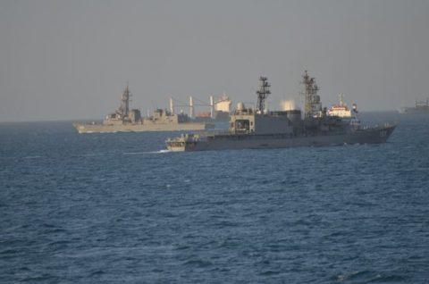 派遣海賊対処行動水上部隊(24次隊から25次隊への任務交代)の記録No8