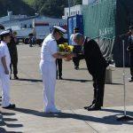 海上自衛隊 掃海艇ながしま 一般公開の様子 FRP
