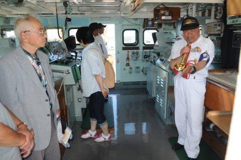 海上自衛隊 掃海艇ながしま 一般公開の様子 FRP10