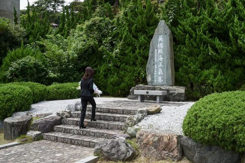 稲田朋美 防衛大臣 海上自衛隊 横須賀基地視察いずも・こくりゅうNo7