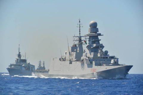 2016年幹部候補生 練習艦隊 遠洋航海18 NATO海上部隊No02