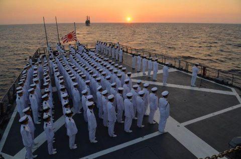 2016年幹部候補生 練習艦隊 遠洋航海18 NATO海上部隊No04