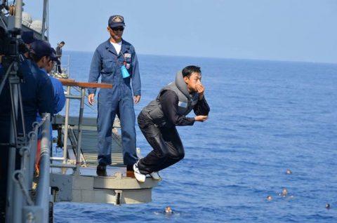 2016年幹部候補生 練習艦隊 遠洋航海18 NATO海上部隊No05