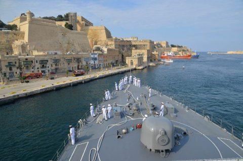 2016年幹部候補生 練習艦隊 遠洋航海18 NATO海上部隊No06