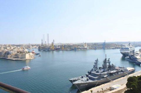 2016年幹部候補生 練習艦隊 遠洋航海18 NATO海上部隊No07