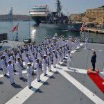 2016年幹部候補生 練習艦隊 遠洋航海18 NATO海上部隊