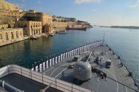 2016年幹部候補生 練習艦隊 遠洋航海18 NATO海上部隊No14