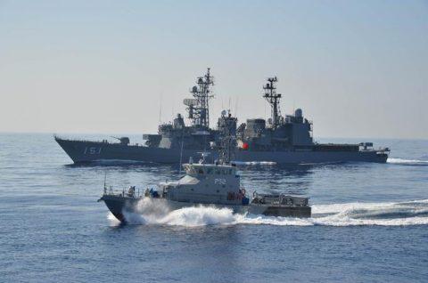 2016年幹部候補生 練習艦隊 遠洋航海18 NATO海上部隊No15
