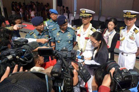 24次海賊対処行動水上部隊25 インドネシアのジャカルタに入港NO2