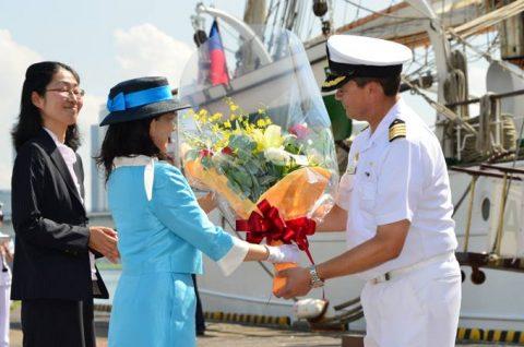 チリ共和国海軍練習帆船「エスメラルダ」晴海ふ頭入港時の様子No6
