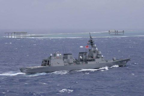 豪州海軍主催多国間海上共同訓練カカドゥ16参加 ふゆづきの記録No1