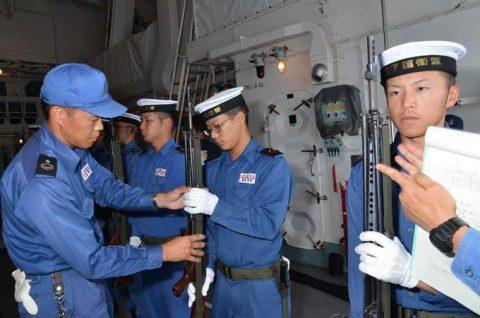豪州海軍主催多国間海上共同訓練カカドゥ16参加 ふゆづきの記録No4
