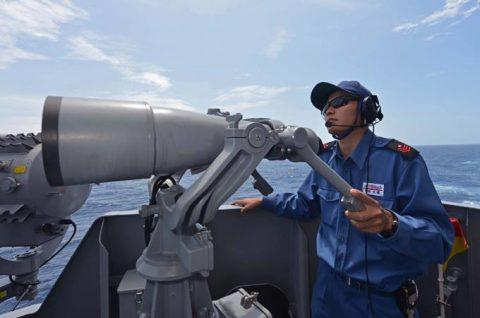 豪州海軍主催多国間海上共同訓練カカドゥ16参加 ふゆづきの記録No5