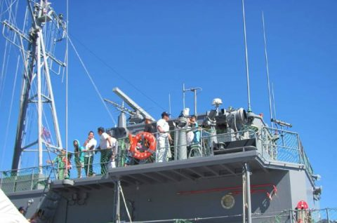 うわじま型掃海艇 ゆげしま 体験航海・一般公開の様子No07