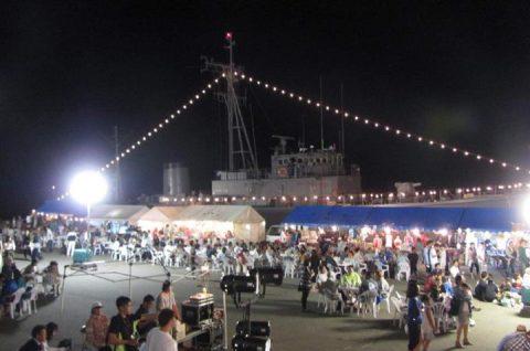 うわじま型掃海艇 ゆげしま 体験航海・一般公開の様子No10