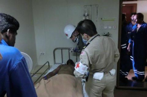 海上自衛隊 海賊対処法 水上部隊(25次隊)12 医療支援要請No4