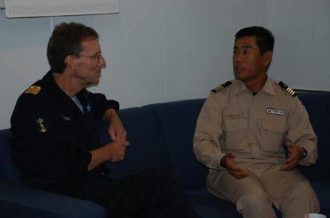 防衛省 海賊対処法 水上部隊(25次隊)12 オランダ海軍No2