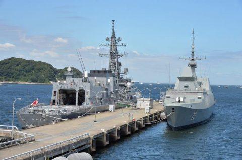 日星(シンガポール海軍)親善訓練 入港歓迎行事No2