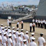 日星(シンガポール海軍)親善訓練 入港歓迎行事